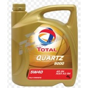 TOTAL QUARTZ 9000 5W40  CASTROL EDGE 5W-30